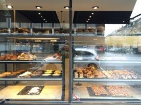 Pastry (wienerbroed) display, Lagkagehuset, Copenhagen