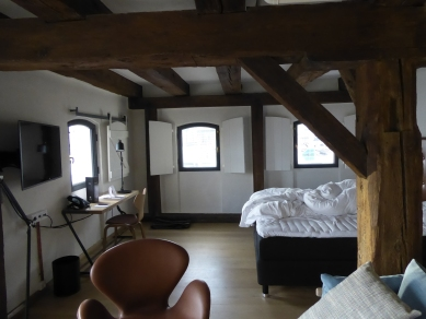 """Our"" room at Nyhavn Hotel 77"